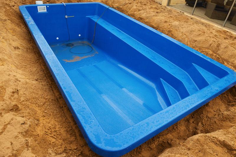 La piscine en coque polyester
