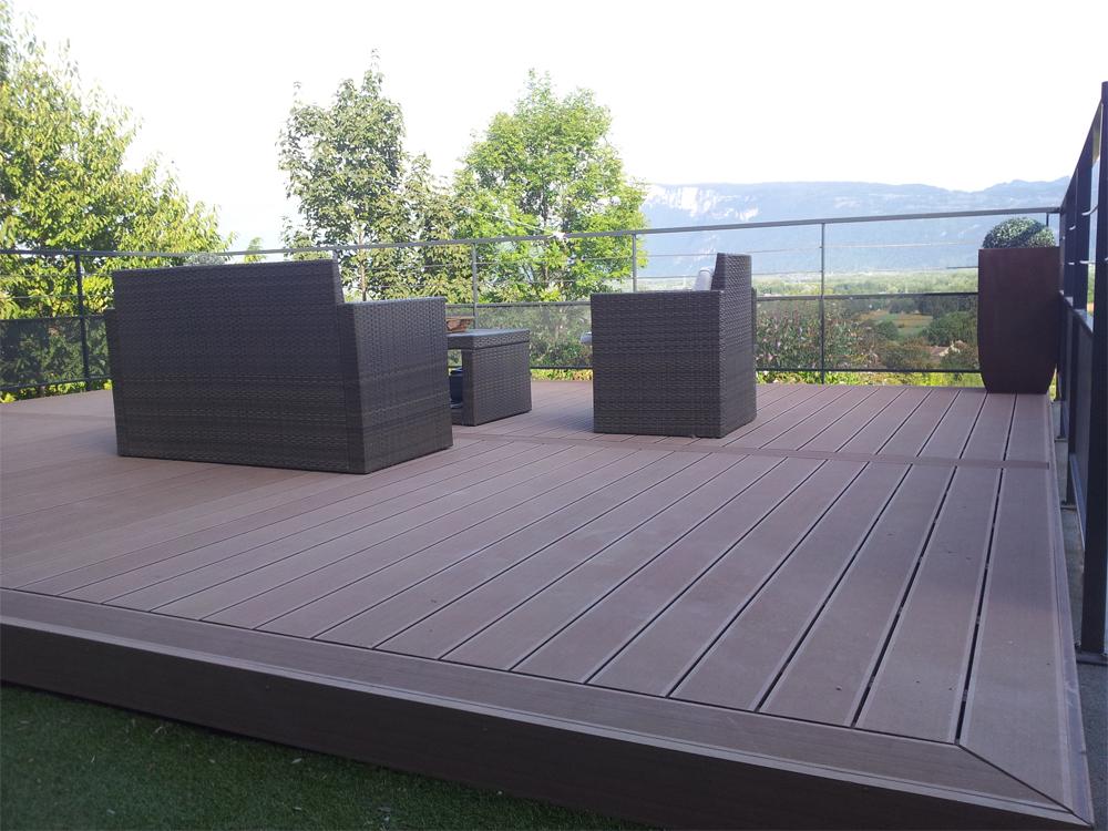 Terrasse posite bois PVC Acheter au meilleur prix