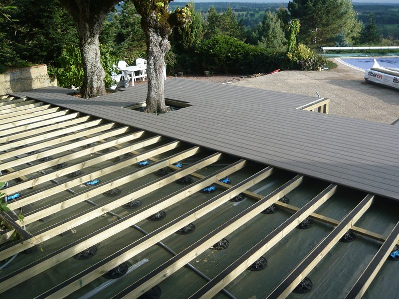 Terrasse posite piscine avis veranda styledevie