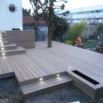 Prix Terrasse Composite Terrasse En Posite Ou En Carrelage Veranda Styledevie