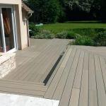 Prix Terrasse Composite Terrasse Resine Exemple De Posite aspect Bois Racsine