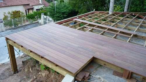 Prix terrasse bois selon type de bois