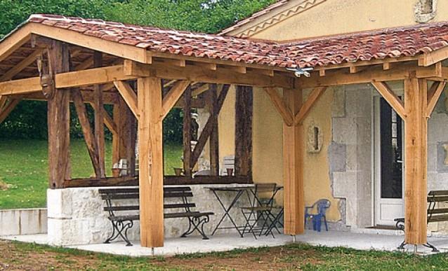 Terrasse couverte bois prix Nos Conseils
