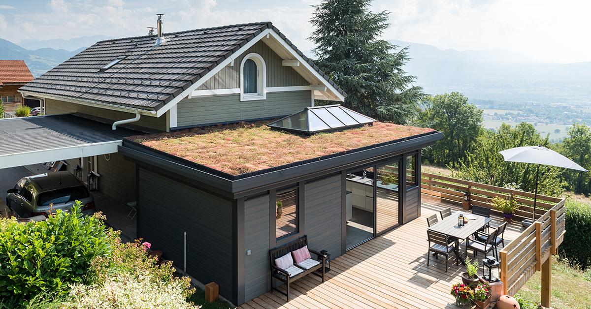 3 bonnes raisons de choisir le toit végétal pour sa
