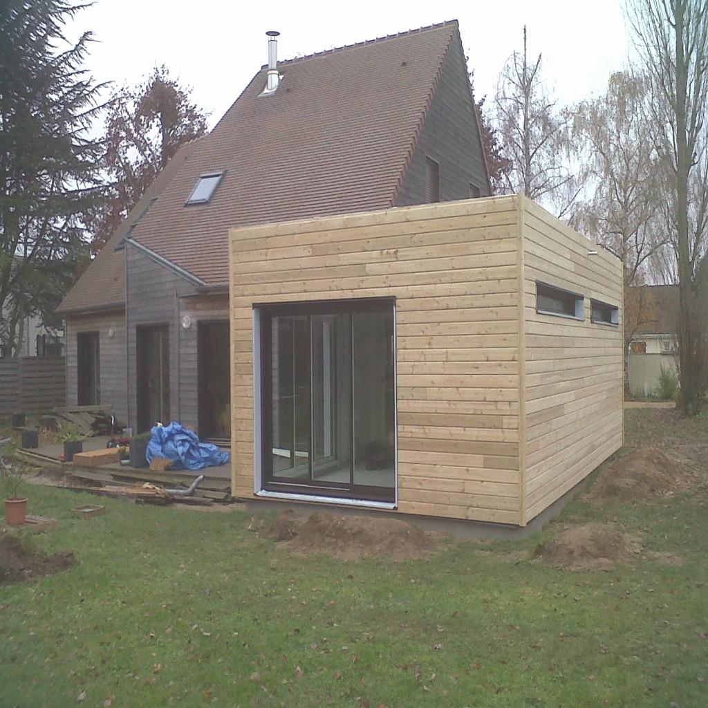 Agrandissement Maison En Kit Extension Garage Good De Tage