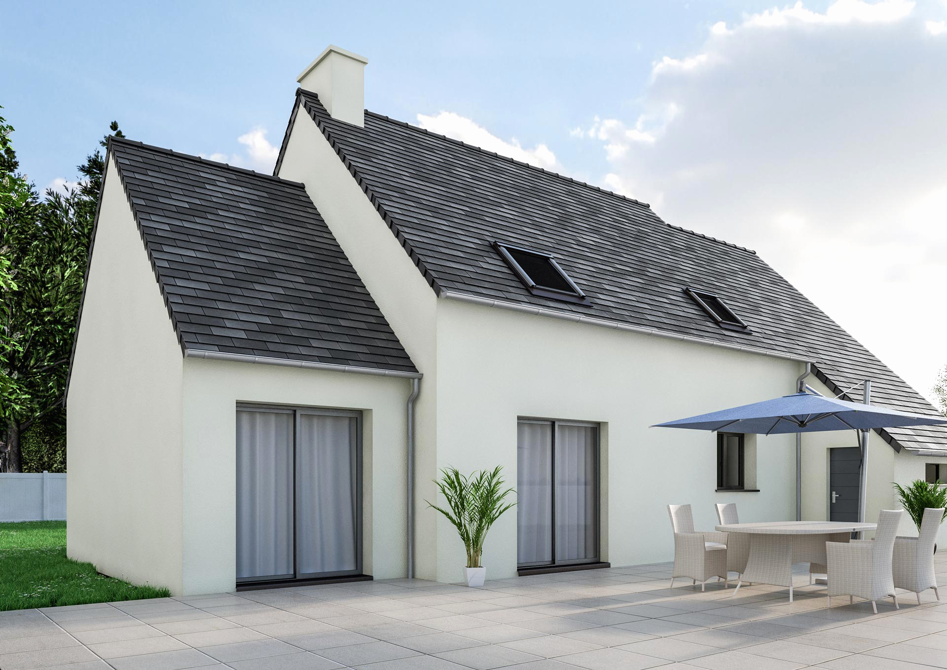 De Extension Maison toit Plat Prix – Raviraj