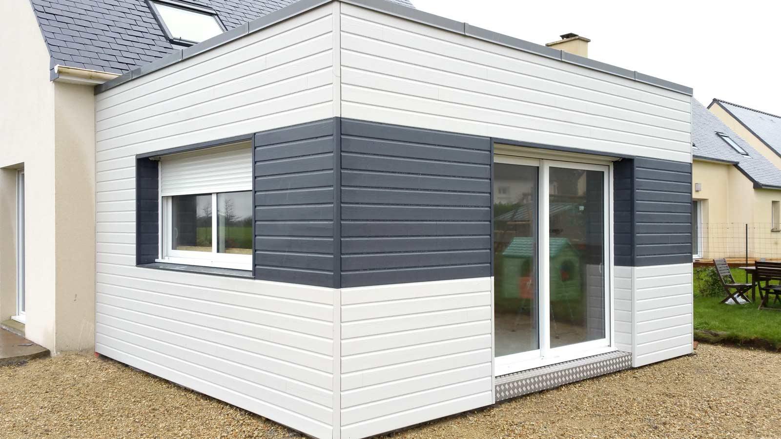 Extension maison bois prix m2 exemple de réalisations ABBC