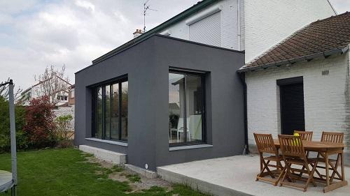 Prix d une extension de maison avec toit plat quel bud