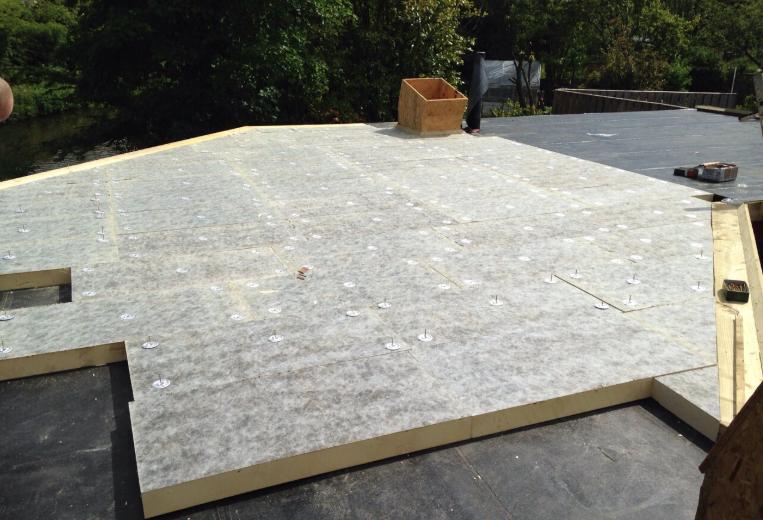 Prix isolation toit plat par m² en Belgique