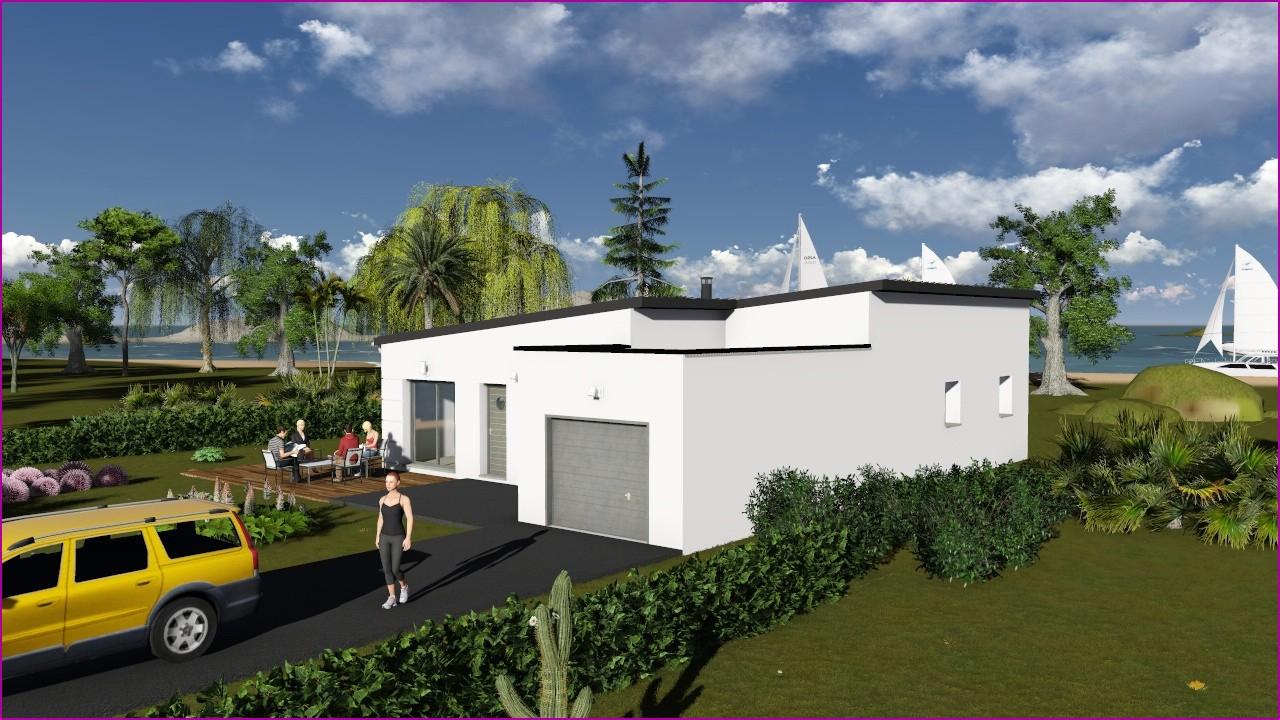 Prix Maison toit Plat 120m2 Sensationnel
