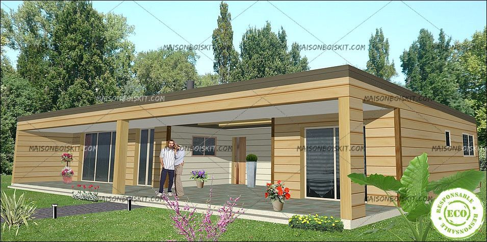 exemple tarif modele gratuit maison bois moderne