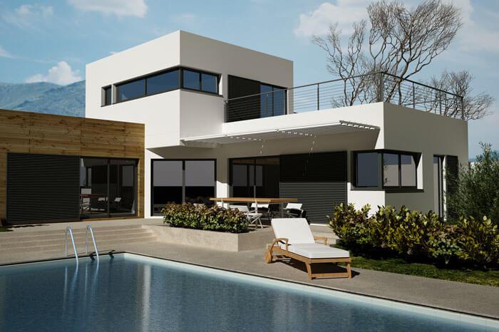Prix Construction Maison toit terrasse Bud Maison