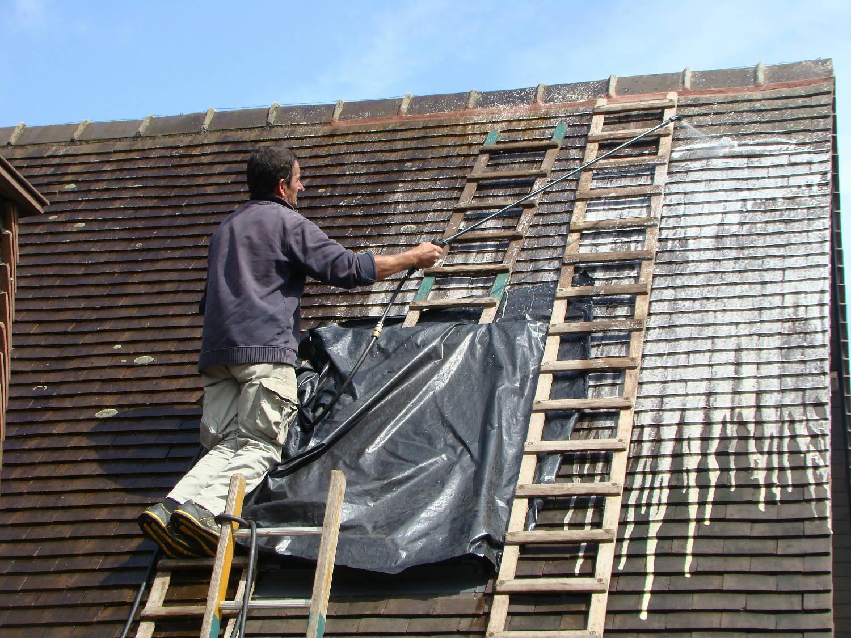 Fixateur bitume étanchéité élastique protection toiture