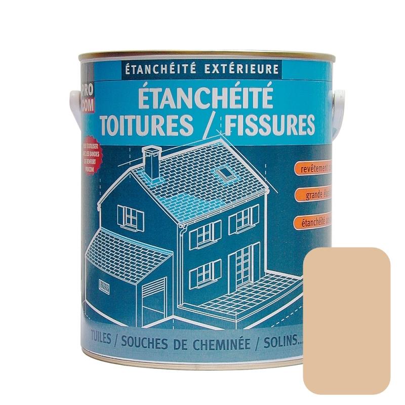 Peinture d étanchéité pour toiture réparation tuiles