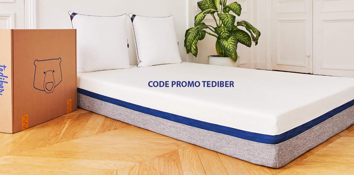 Code promo Tediber matelas découvrez le code de
