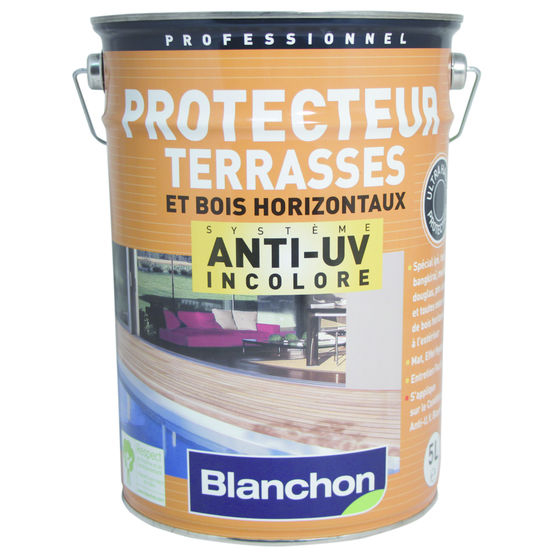 Protection Terrasse Bois Protection Incolore Anti Uv Pour tous Bois Horizontaux