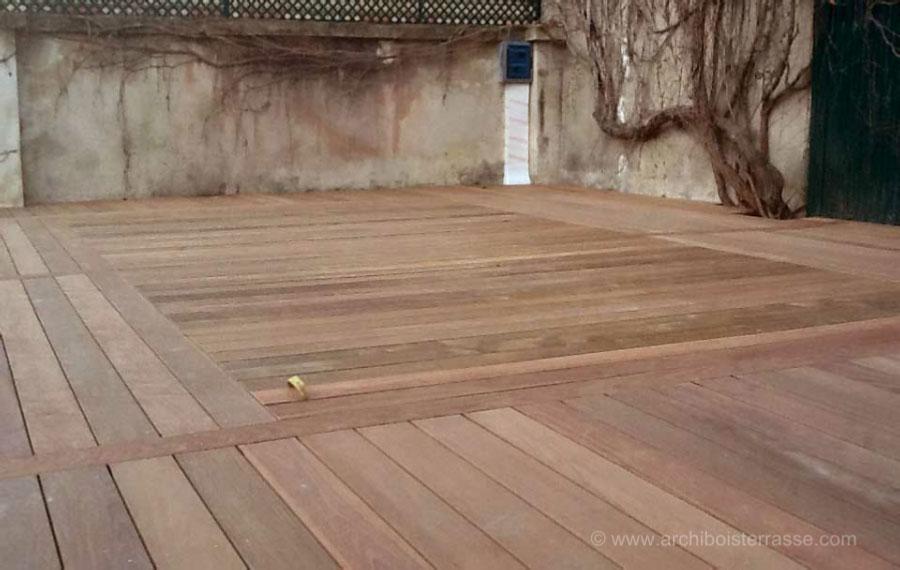 terrasse bois mobile de piscine couvre et protège Paris