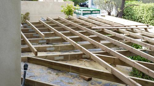 Création de terrasse en bois Var Vente de bois et
