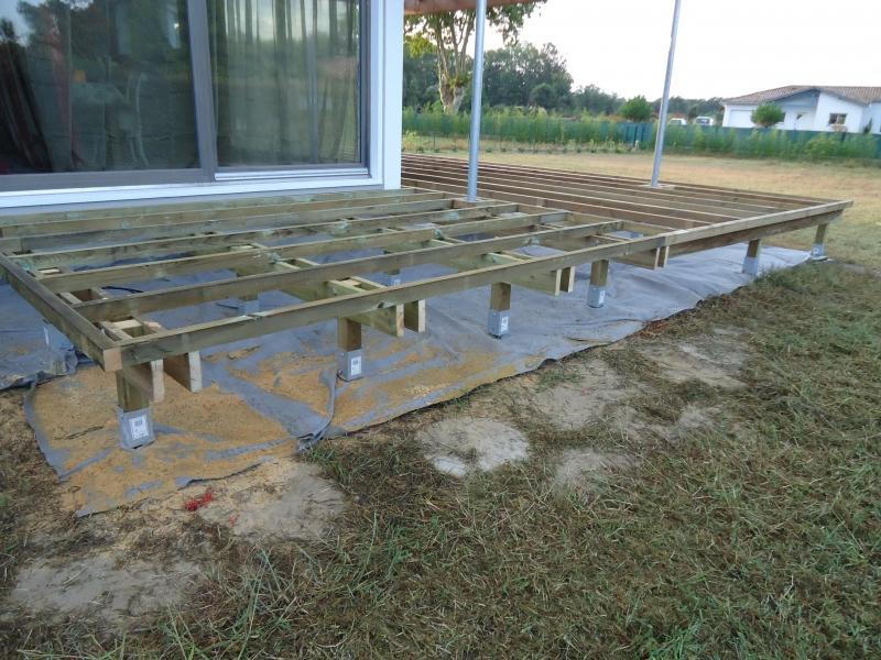 Realisation terrasse bois Wikilia