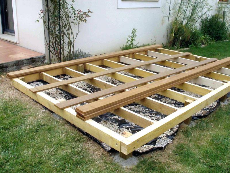Realiser Une Terrasse 1 2 3 ment Realiser Une Terrasse