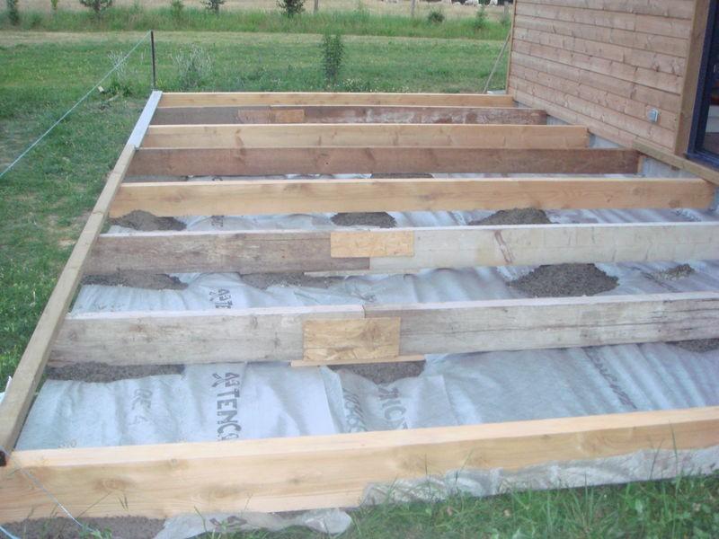 Realiser Une Terrasse En Bois Sur Plot Pose davidreed