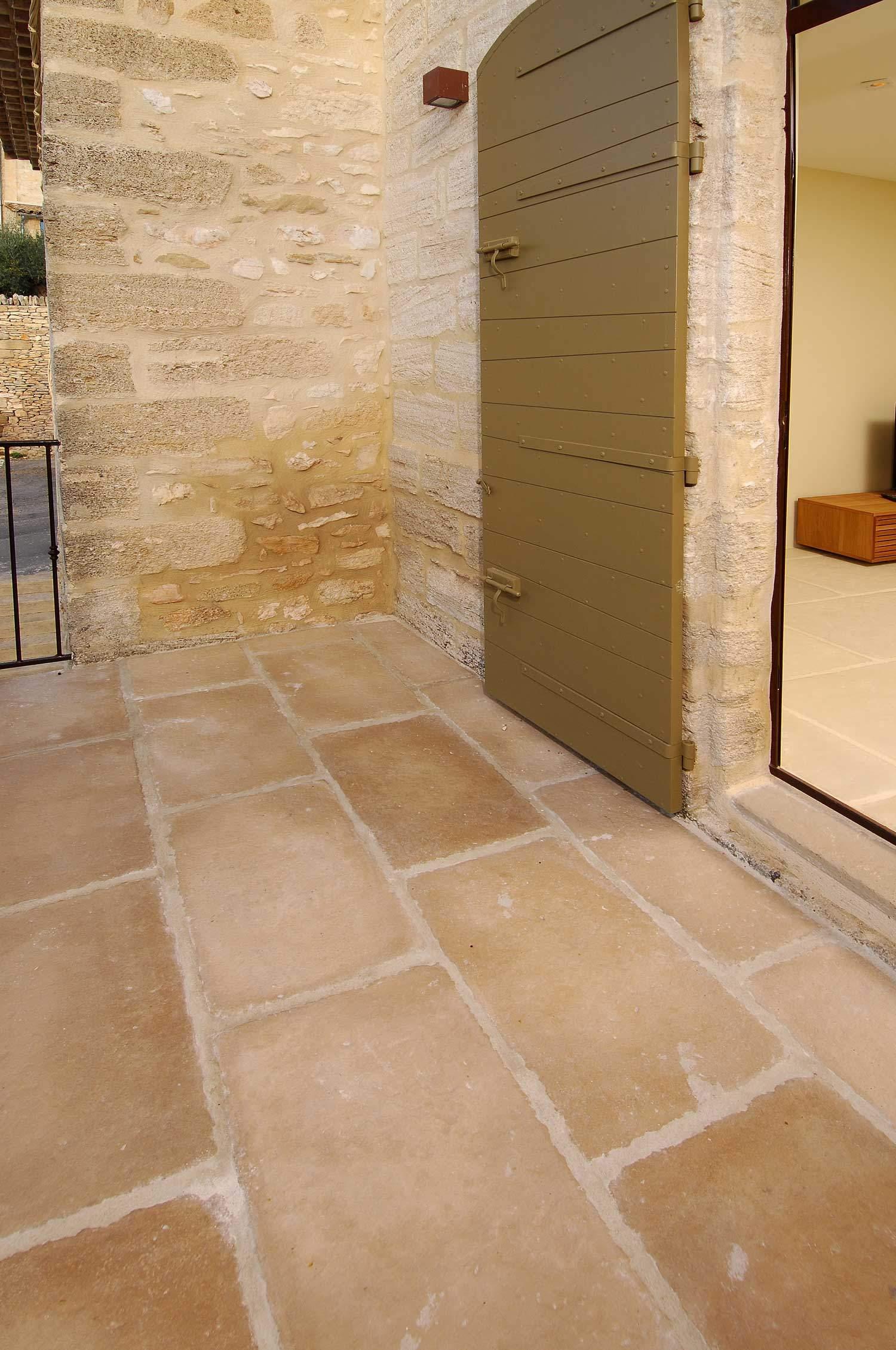 Recouvrir Terrasse Exterieure Terrasse Extérieure En Dallage Authentique Rouvière