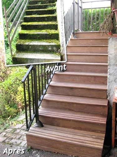 Habillage Escalier Beton Renovation Escalier Beton