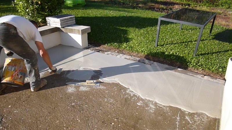 Terrasse beton resine Nos Conseils