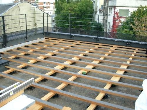 Refaire Etancheite toit Terrasse toit De Terrasse En Bois 40 Constructeur Maison Pro Modele