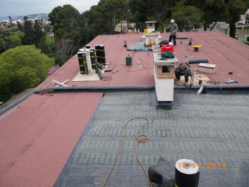 Refaire Etancheite toit Terrasse toiture Terrasse Plate Inaccessible Refaire Le toit Et