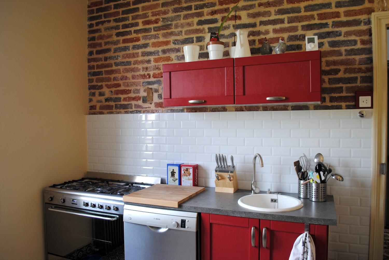 Credence En Carrelage Cuisine renover carrelage cuisine diy – crédence cuisine métro