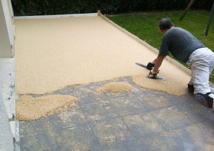 Le revêtement de sol en résine est de plus en plus utilisé