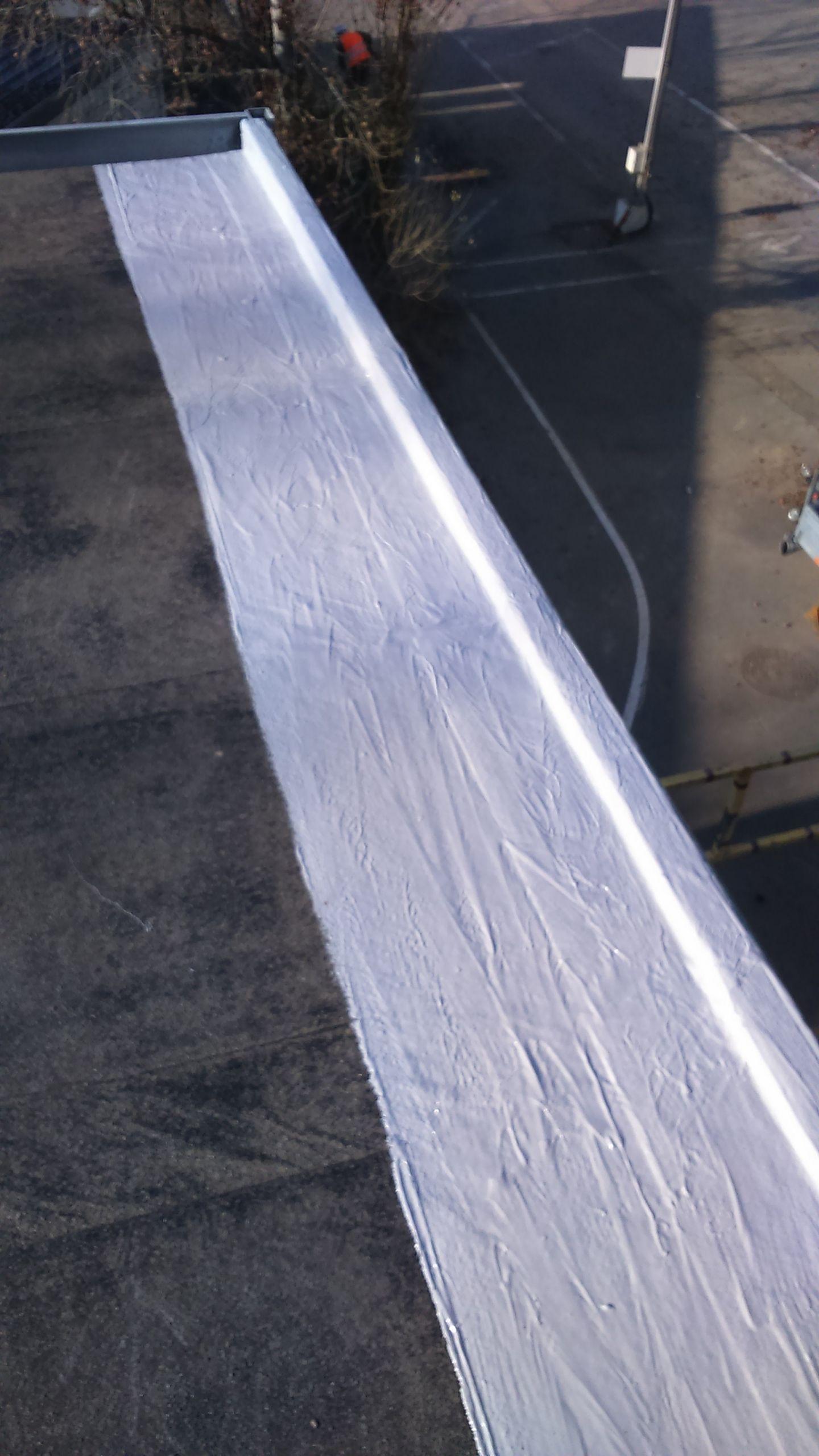 Réfection Etanchéité sur toiture terrasse bitumée