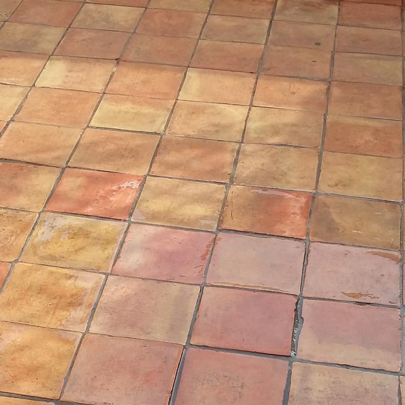Resine transparente etancheite terrasse carrelée ARCACLEAR