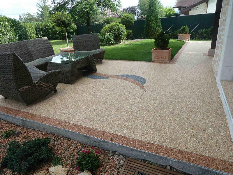 Revêtement de sol – Granulat de marbre – Moquette de