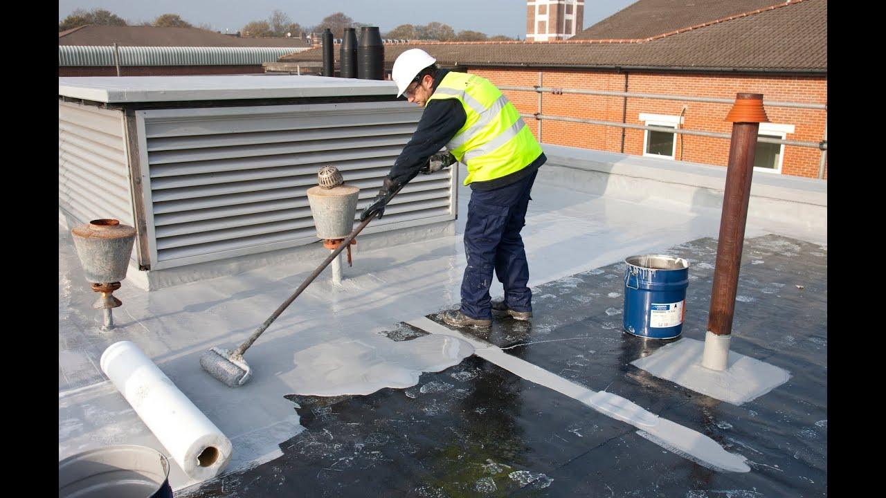 Resine Etancheite toiture Ment Réaliser L étanchéité Liquide Armée D Une toiture