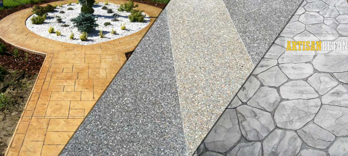 Favori Revetement Terrasse Beton Decoratif TF44