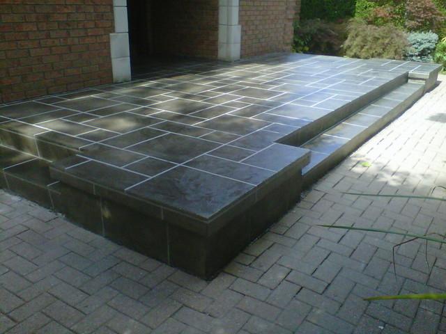 Revêtement de Béton Moderne Terrasse et Patio
