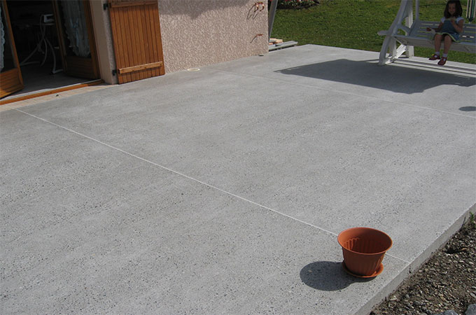 Revetement Terrasse Beton