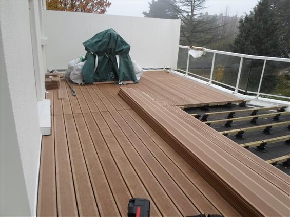 Revetement toit Terrasse toiture Terrasse Plate - Revêtements Modernes Du toit - Idees ...