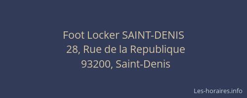 foot locker de saint denis
