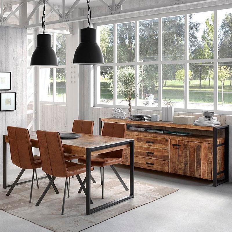 Salle à manger en bois plète meubles salle à manger bois