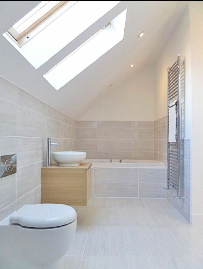 Salle De Bain Beige Et Blanc Beaucoup D Idées En Photos Pour Une Salle De Bain Beige