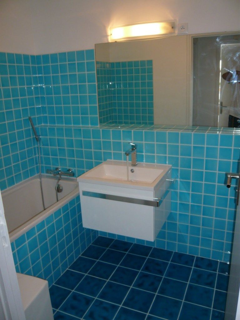 Carrelage Salle De Bain Bleu Turquoise salle de bain bleu turquoise 1001 designs uniques pour une
