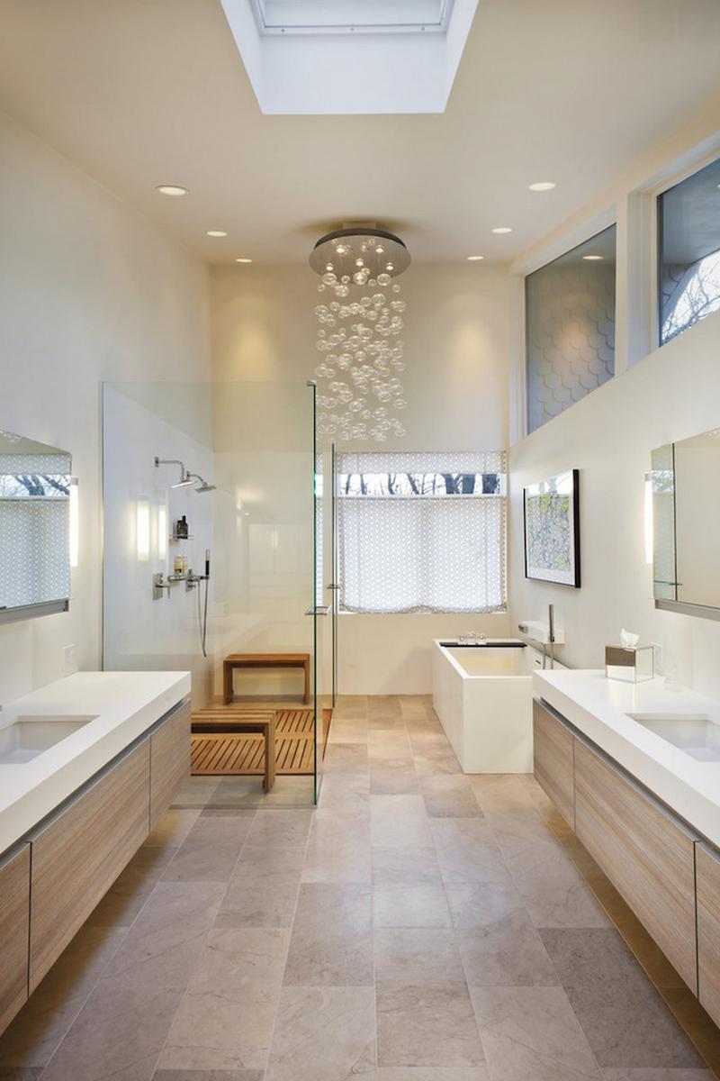Idée déco salle de bain bois 40 espaces cosy et chics qui