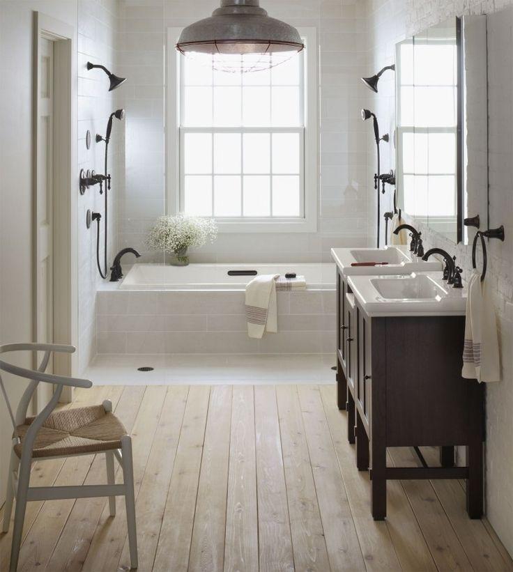 Idée décoration Salle de bain salle de bains vintage