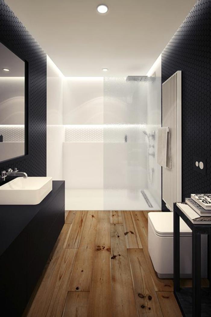 52 Fotos von Badezimmer in Schwarz und Weiß Archzine