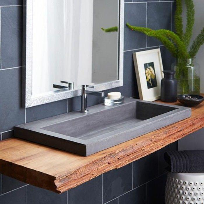 Idée décoration Salle de bain evier salle de bain