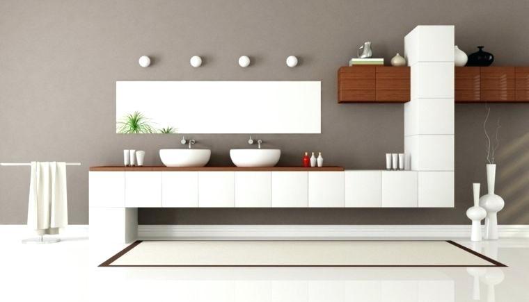 Salle De Bain Gris Blanc Concept