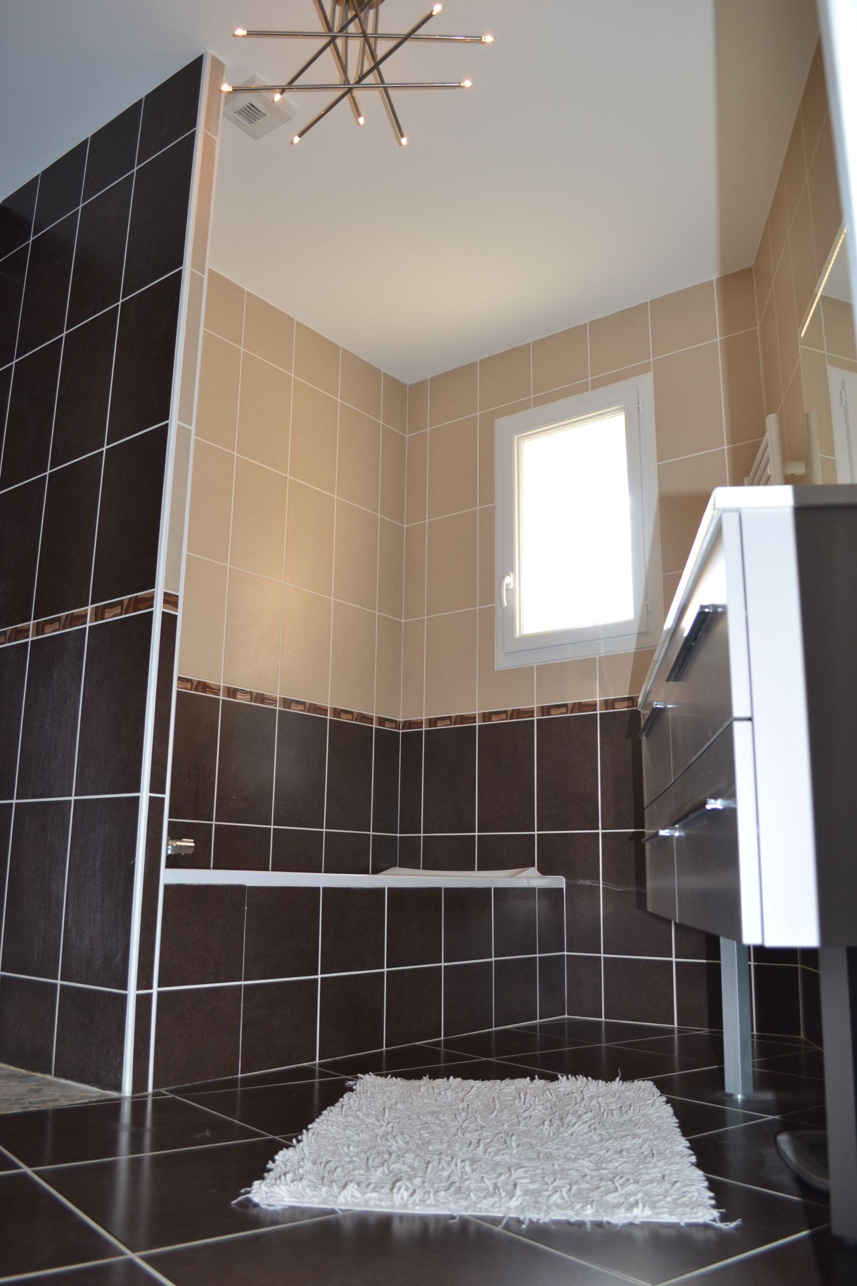 Carrelage Beige Et Marron salle de bain marron salle de bain marron et beige photo 3 7